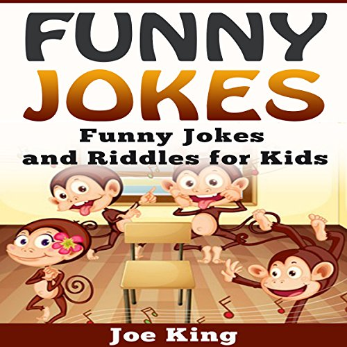 Funny Jokes: Funny Jokes and Riddles for Kids cover art