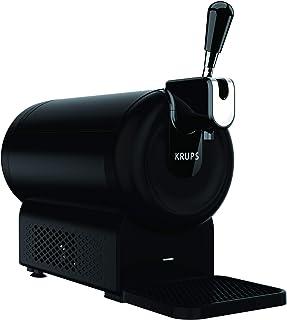 Krups Dispensador de cerveza The Sub Compact VB641810 - Tirador de cerveza para barriles de 2 l, mantiene la temperatura a 2 º, hasta 15 días de frescura, compatible con una gran variedad de cervezas
