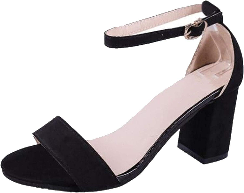 2018 Summer Women Sandals Open Toe Flip Flops Sandles Thick Heel shoes Gladiator shoes