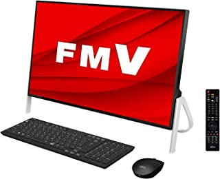 【公式】 富士通 デスクトップパソコン FMV ESPRIMO FHシリーズ WF1/D3 (Windows 10 Home/23.8型ワイド液晶/Core i7/8GBメモリ/約1TB HDD/Blu-ray Discドライブ/Office ...