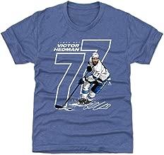 500 LEVEL Victor Hedman Tampa Bay Hockey Kids Shirt - Victor Hedman Offset