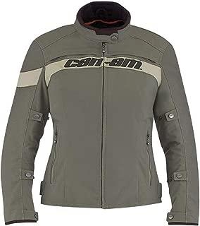 Can-Am Spyder Motorcycle New OEM Ladies Hanna Jacket Khaki Small, 4406720405