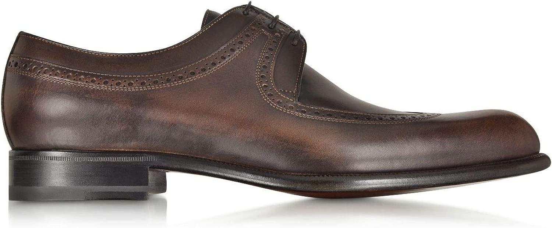 Luxury Luxury Fashion   A.Testoni Herren M45713VEH98036LHZ Braun Schnürschuhe   Jahreszeit Permanent  billige Designermarken