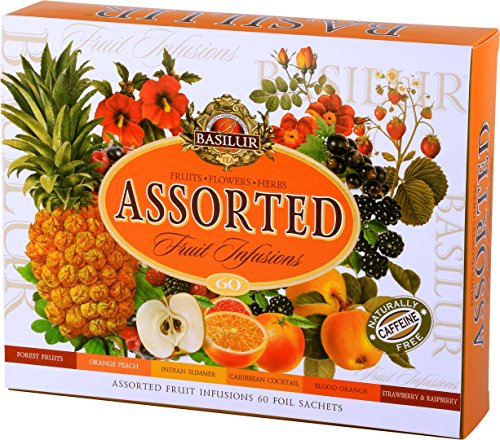 BASILUR Fruit Infusions Assorted Früchtetee 60x1,8g