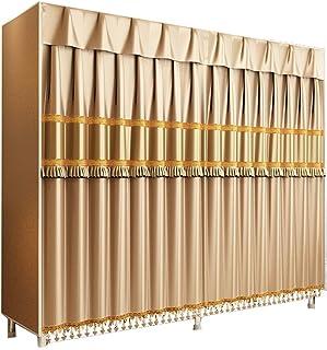 Penderies repliables Maison Armoire Tissu Armoire Chambre À Coucher Simple Armoire en Tissu Pliable Armoire Simple Armoire...