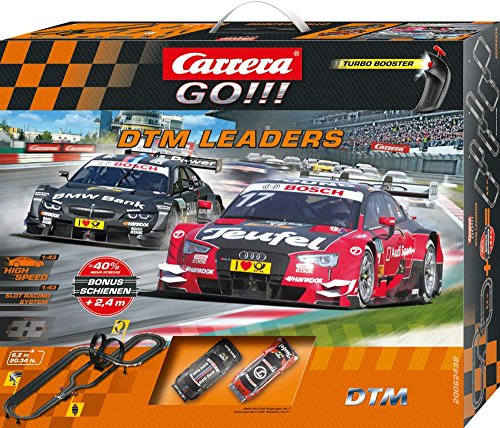 Carrera GO!!! DTM Leader Action Rennbahn 1:43