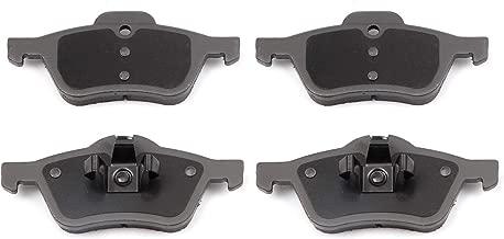 SCITOO Ceramic Discs Brake Pads, 4pcs Front Brake Pads Brakes Kits fit 2002 2003 2004 2005 2006 2007 2008 Mini Cooper Compatible 308.09390/MGD939M D939-7841