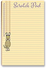 Cat Scratch Pad Funny Notepad with Magnet - 8.5