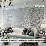 Papel pintado no tejido diseño moderno (4)