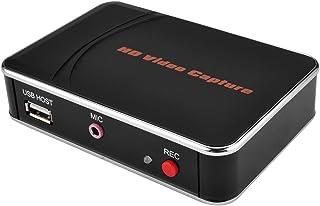 AGPtek Capturadora de Vídeo HD Grabadoa de Videojuegos 1080p HDMI/YPBPR Xbox 360 & uno /PS3 PS4 Capturadora de Vídeo