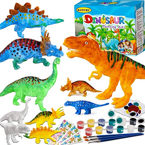BATURU Kids Crafts Dinosaur Painting Toys Art and Crafts for Kids Age 312 Kids Painting Toys for Boys and Girls
