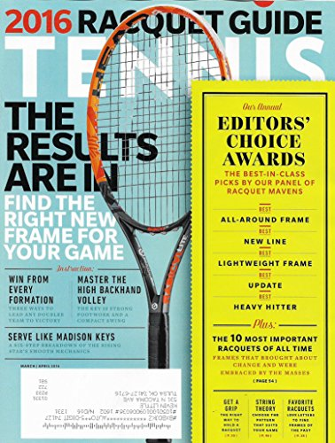 2016 Racquet Guide l Annual Editors' Choice Awards l Madison Keys - March/April, 2016 Tennis Magazine