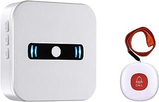 Daytech 呼び出しベル 介護 ポケットベル 無線コールボタン 警報 システムにおける 高齢者個人 用