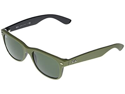 Ray-Ban RB2132 New Wayfarer Square Sunglasses 55 mm