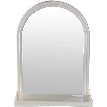 Victor Enterprises Plastic Wall Mirror (Ivory)
