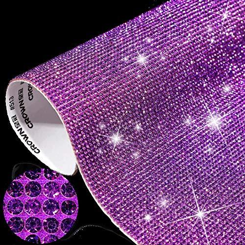 12000 Pegatinas de Diamantes de Cristal Brillantes Decoración de Coche de DIY...