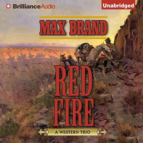 Red Fire audiobook cover art