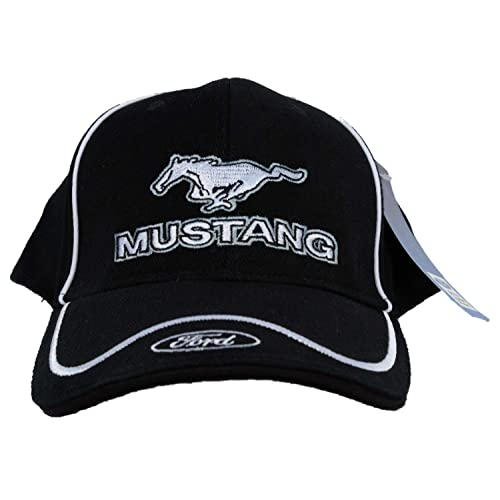 Ford Mustang with Ford Logo Embroidered Hat 134608818944