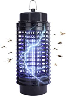Garsum Bug Zapper Mosquito Killer Insect Fly Pests Attractant Traps Electric UV Light Lamp Moths Zapper for Home,Indoor and Outdoor Non-Toxic No Radiation