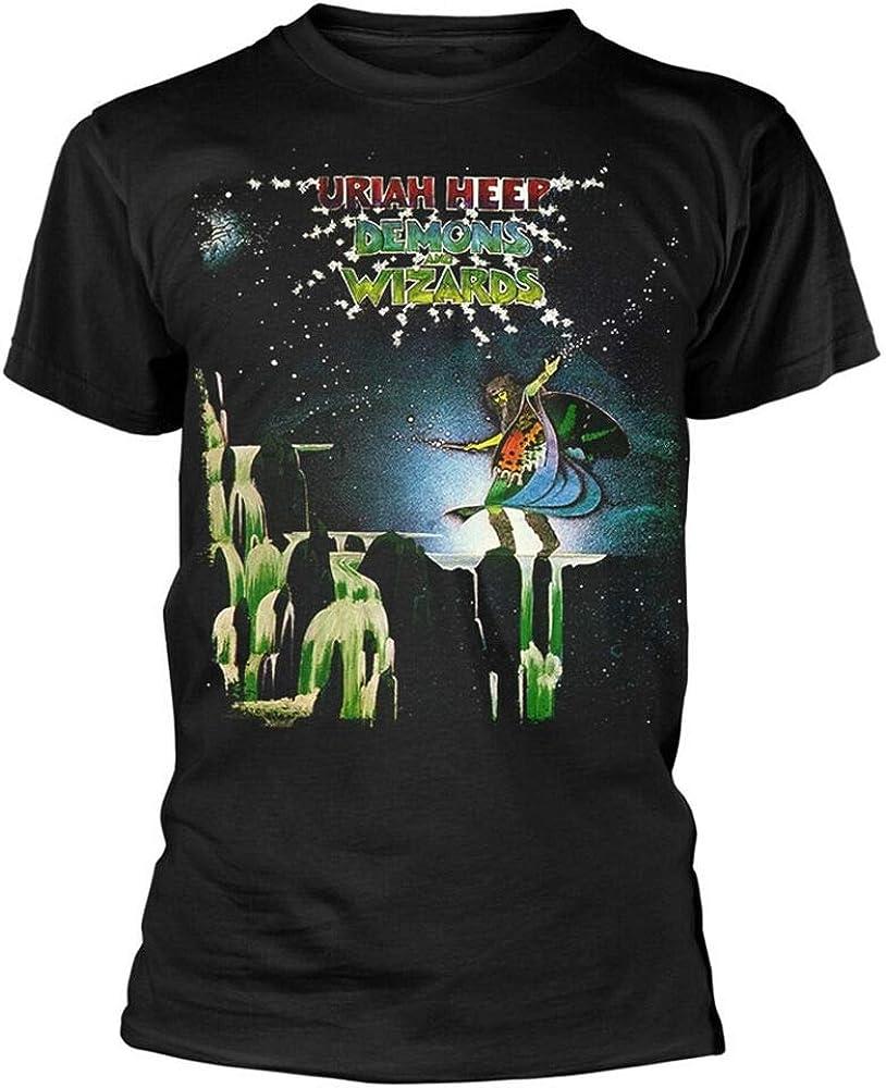 ZZYT Uriah Heep Demons And Wizards Black T Shirt