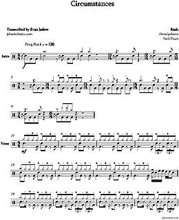 Rush - Circumstances: Drum Sheet Music (Jaslow Drum Sheets: Rush Collection)