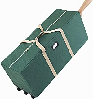 ProPik Holiday Rolling Tree Storage Bag, Extra Large Heavy Duty Storage Container, 25