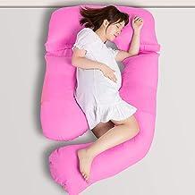 Novo 2.5Kg Pp Cotton Comfort Pregnancy & Maternity Pillow, Pink - 175X80X25cm