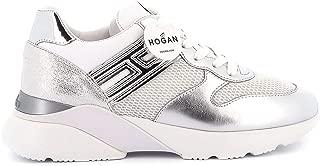 Hogan Luxury Fashion Womens HXW3850BF50N150351 Silver Sneakers |