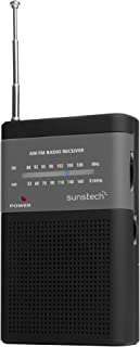 Sunstech Portable Radio Black