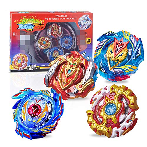 Burst Toys with Launcher and Handle with Box Gyros Arena Stadium Arena Metal Funsion 4D