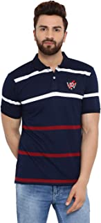 Austin Wood Men's Regular Fit Polos