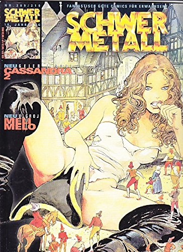 Schwermetall 209/210 18 Jahrgang Fantastisch Gute Comics Für Erwachsene