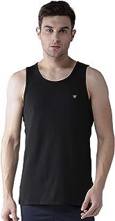 WC RIGHT Mens Solid Big & Plus Size Regular FIT Sleeveless T-Shirt/Sando