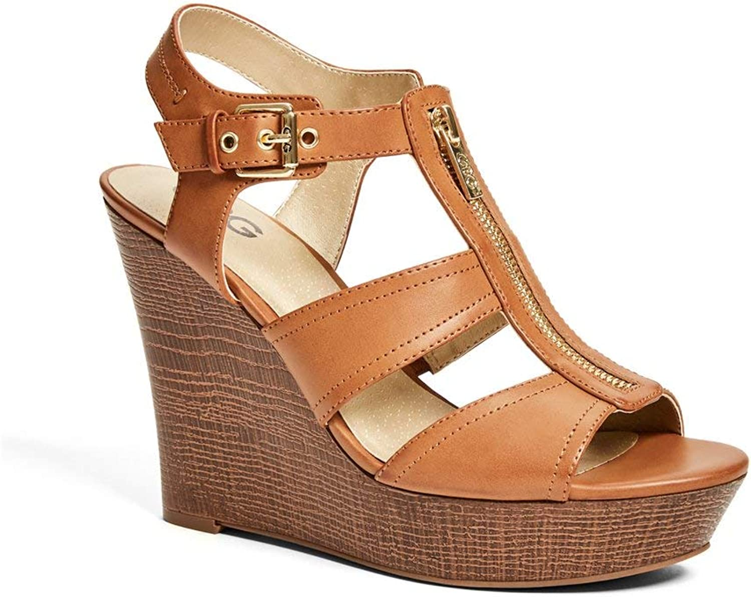 G By Guess Women's Davyn Front-Zip Wedges