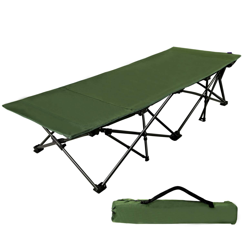 Texsport Black Bear Colossal Folding Camp Cot Black, 85-Inch X 40-Inch X 20-1//2-Inch