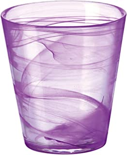 Bormioli Rocco Capri Water Glass, Set of 6, 12.5 oz, Purple