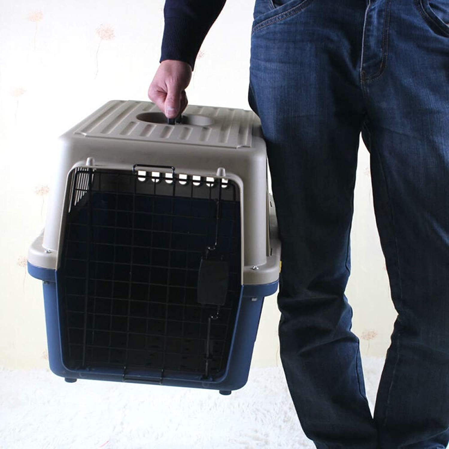 MEI GU Pet Bag  air Box Thickening pet air Box Dog cat Consignment Box pet cage Outing Supplies Pet Supplies