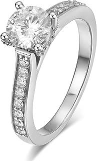 moissanite filigree engagement rings