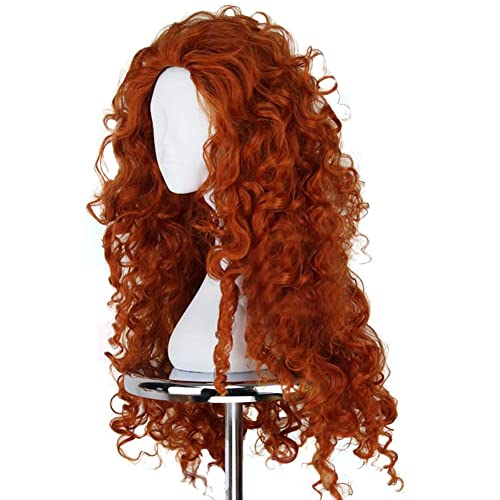Ace Halloween Adult Women s Brave Merida Wigs Costumes bb741d333