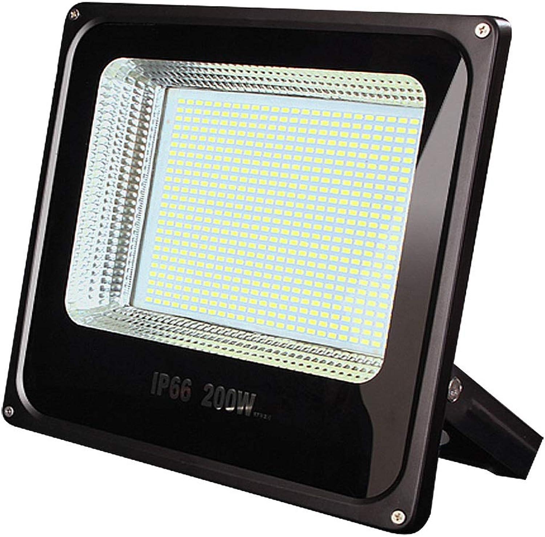 Scheinwerfer LED Strahler Mit Bewegungsmelder Superhelles Wasserdichtes IP65-Arbeitslicht Im Freien 200W-Scheinwerferbeleuchtung Für Flutlicht-Gartenbeleuchtung (Farbe   200W)