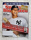 Alex Rodriguez - New York Yankees - Texas Two-Step - A-Rod Bolts for the Yankees - Sports Illustrated - February 23, 2004 - Dale Earnhardt Jr wins the Daytona 500 - SI