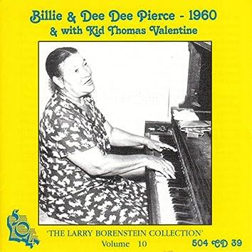 Billie & Dee Dee Pierce with Kid Thomas Valentine - 1960