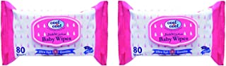 Cool & Cool Baby Wipes 80's Twin Pack