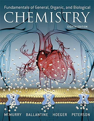 Fundamentals of General Organic and Biological Chemistry Plus Mastering Chemistry with Pearson product image