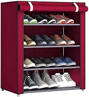 Koti Schuhregal Sneaker Aufbewahrung Organizer Schrank Mit Tower Of London Bedruckter Vliesstoffbezug 15 Paar London Baumarkt