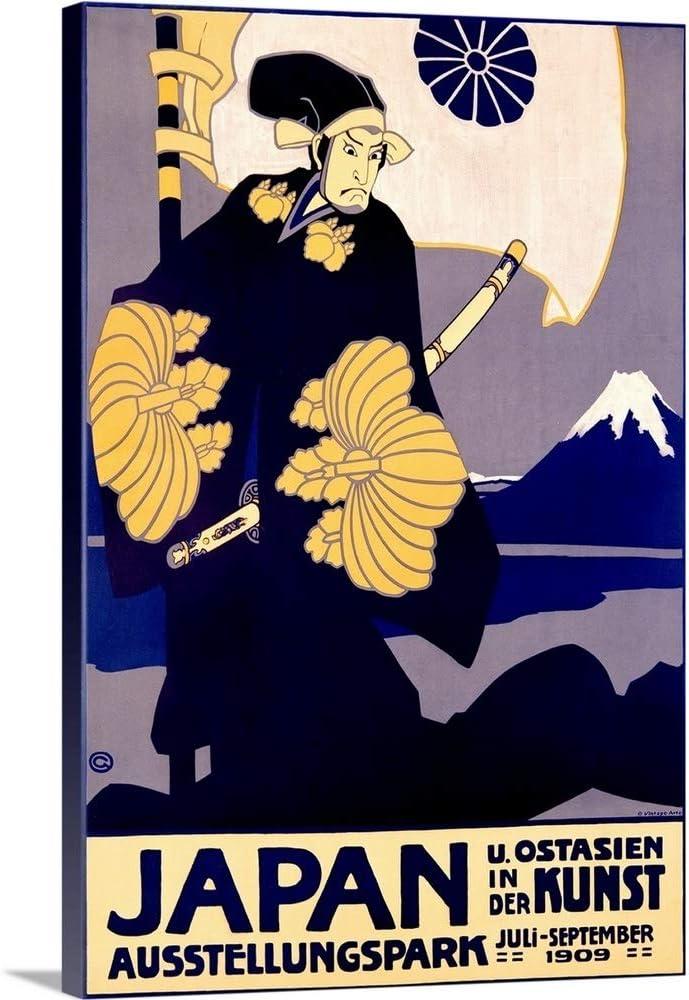 Ranking TOP15 Japan Kunst 1909 Vintage Poster Wall Print Vintag mart Art Canvas