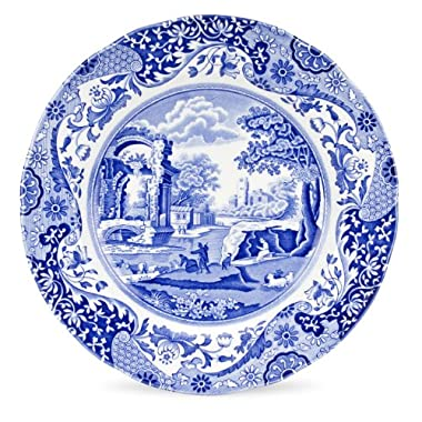Spode Blue Italian Dinner Plate, Set of 4