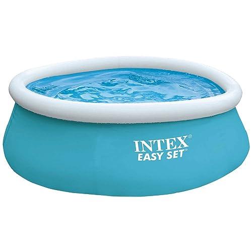 Intex 28101NP - Piscina hinchable Easy Set 183 x 51 cm, 880 litros