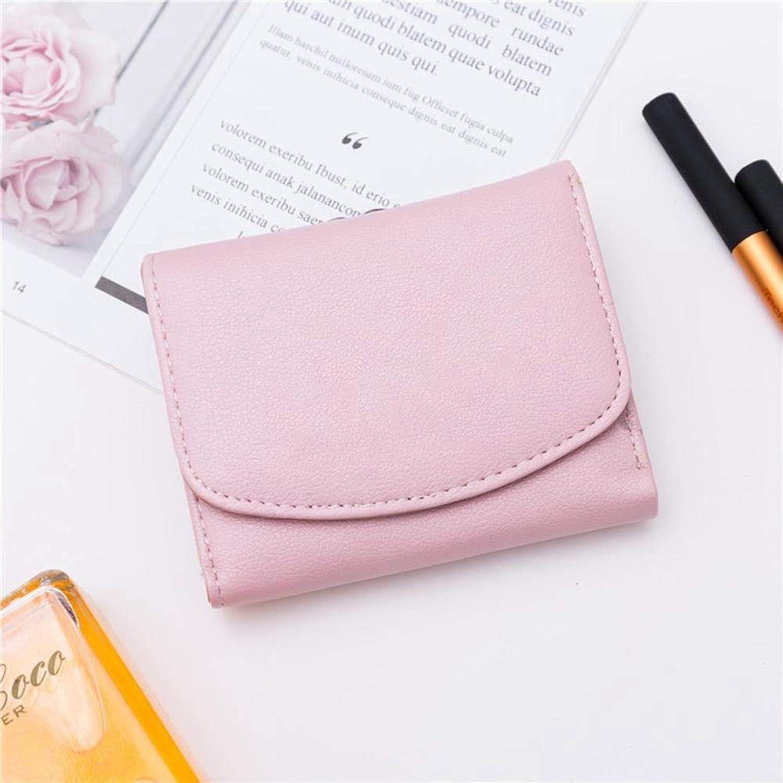 Girls Purse Women's Wallet,Short Bifold Ladies Wallet Thin Mini Purse Wallet PU Leather (color   D)