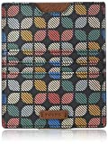 Fossil womens Passport Pvc Passport Wallet Pass Case, Signature Multi, One Size US